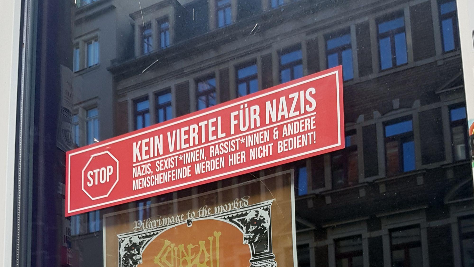 Kein Viertel für Nazis - Foto: URA