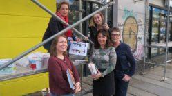 Das Neustadt-Bibo-Team freut sich auf den Geburtstag