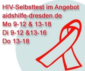 HIV-Schnelltest der AIDS-Hilfe Dresden