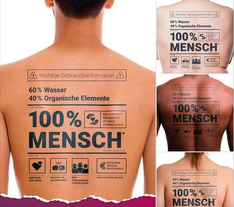 2000 Plakate werden in ganz Sachsen aufgehängt.