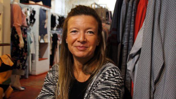"""Andrea Schubert-Fließbach vom """"Schlüpperladen"""" Infit."""