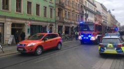 Feuerwehreinsatz auf der Görlitzer Straße