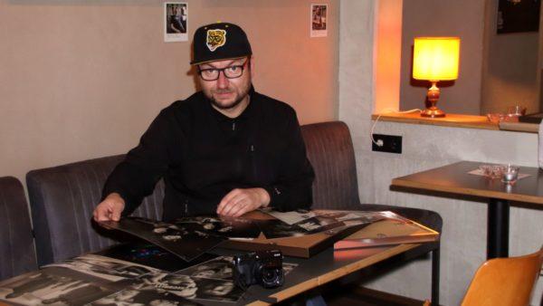DJ Spunky aka Reinhard Spunkner stellt im Plan B aus.