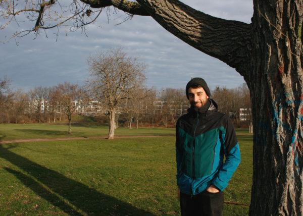 Florian Wendler [27] will umweltpolitische Veranstaltungen mit mehr Menschen teilen.