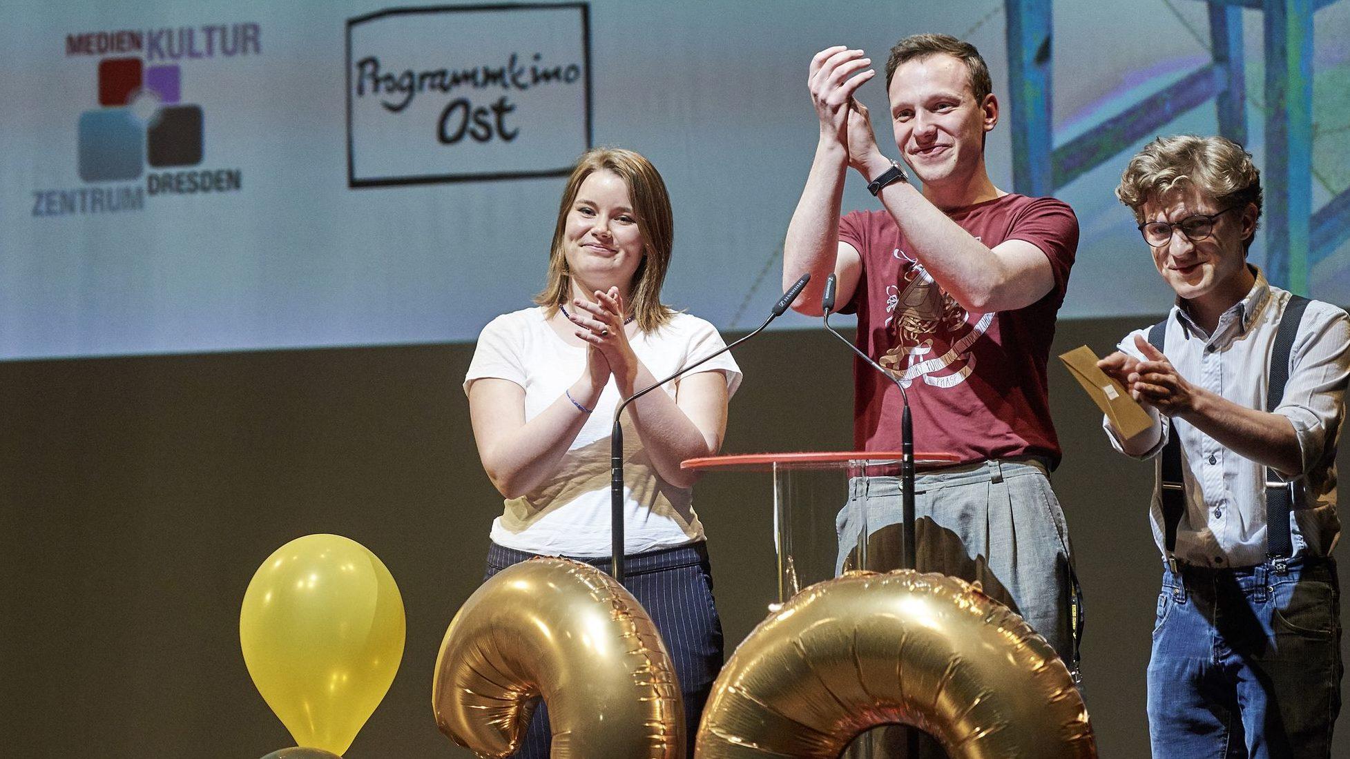 Stephan Floss von der Jugendjury des 20. Filmfests Dresden. Foto: PR