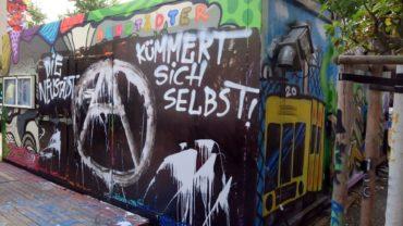 Im September 2017 gab es die erste Sprechstunde der Neustadt-Kümmerin im Container.