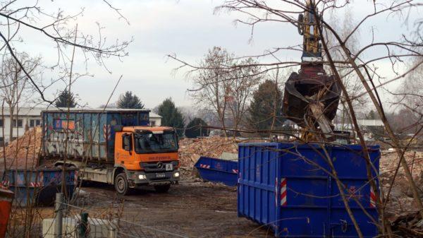 Seit September 2019 wird das 22.000 Quadratmeter große Areal für die Bauarbeiten vorbereitet. Foto: W. Schenk