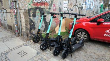 Tier-Roller auf der Görlitzer Straße