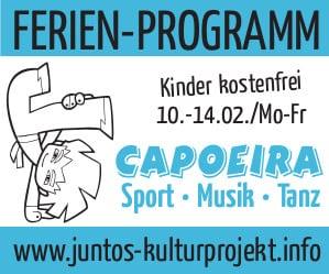 Capoeira Ferien-Programm