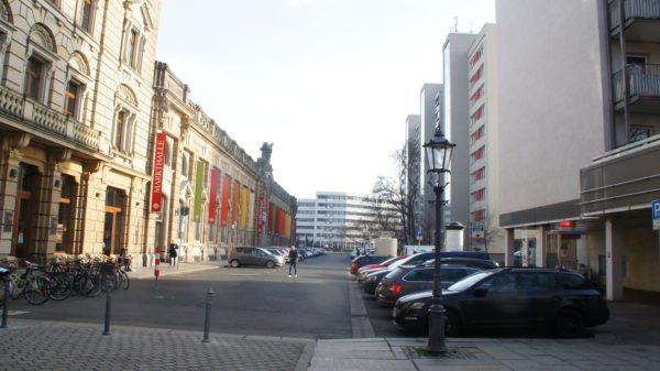 Blick in die Ritterstraße.