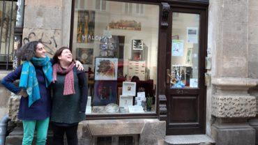 Neue Ateliergemeinschaft auf der Görlitzer Straße: Nazanin Zandi und Anne Ibelings