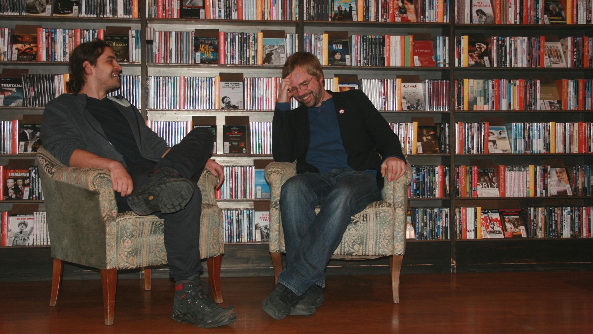 Die beiden Leiter Sven Voigt und Alexander Stark (v.r.) des Phase IV