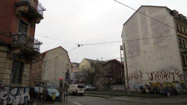 Wohnen statt Parken an der Sebnitzer Straße.