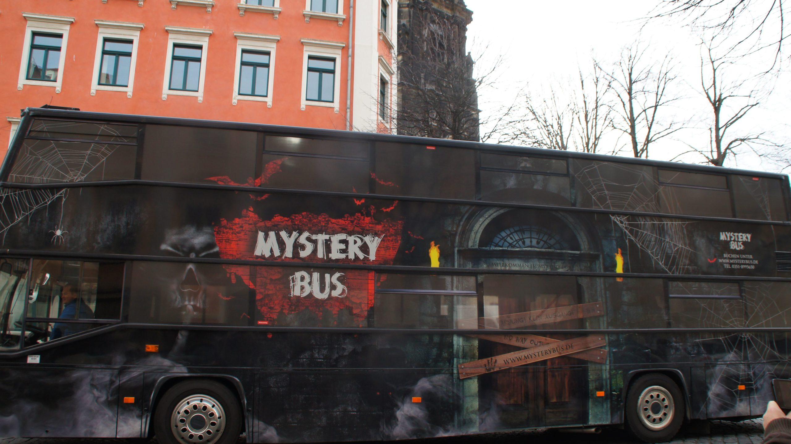 Clubtour mit dem Mystery-Bus