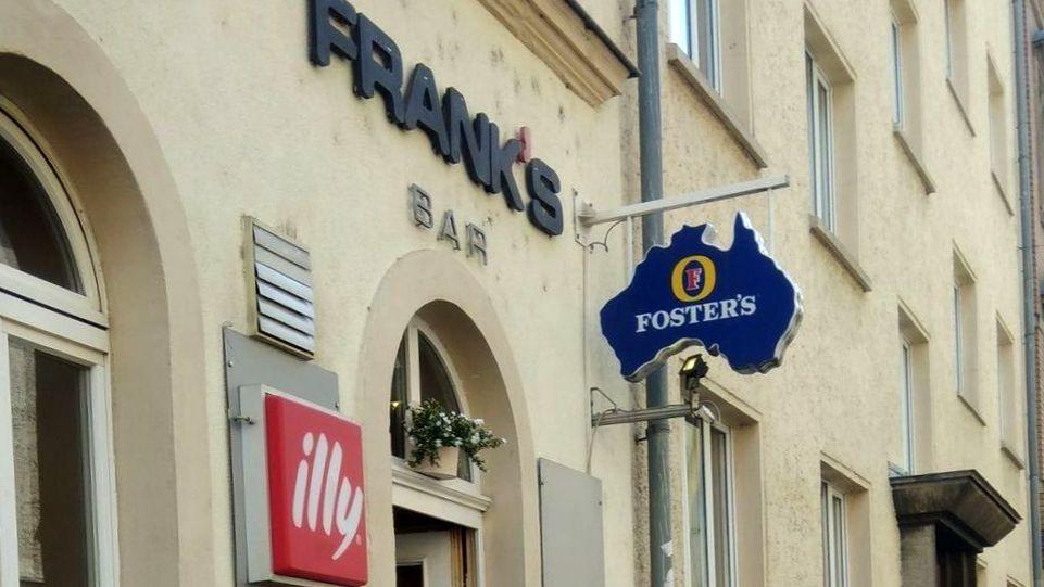 Frank's Bar geschlossen