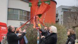 Friederike-Beier-Weg eingeweiht. Foto: Stadtteilarchiv Dresden Neustadt