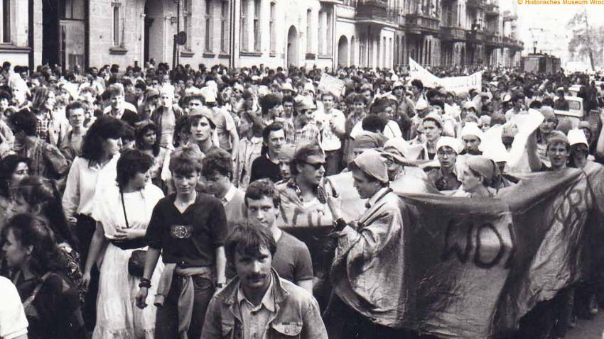 Die Revolution der Zwerge am 1. Juni 1988 Foto: Museum