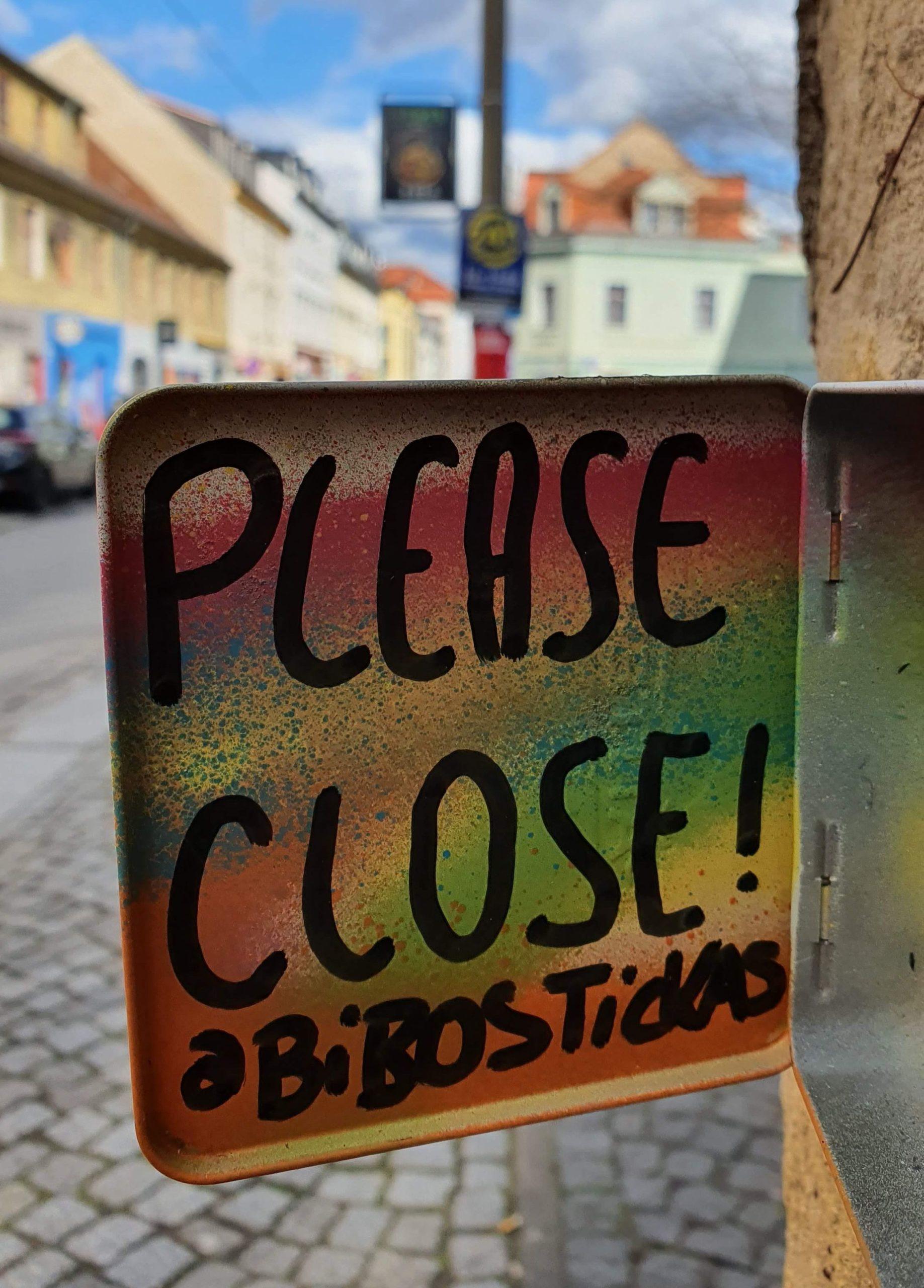 Streetart auf der Alaunstraße