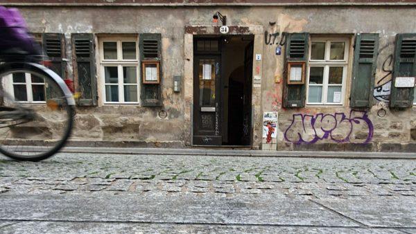 Raskolnikoff in der Böhmischen Straße