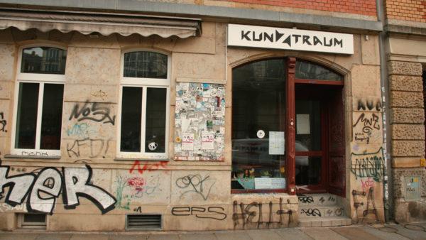 Der Tafelladen Dresden-Neustadt in der Gutschmidstraße bleibt vorerst geschlossen.