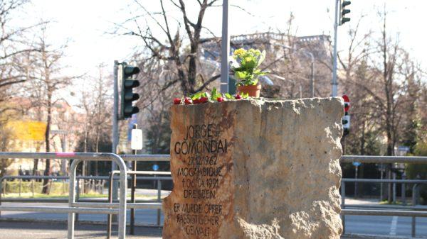 Gedenkstein für Jorge Gomondai