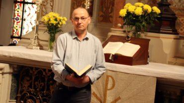 Pfarrer Ecki Möller sendet einen Ostergruß aus der Martin-Luther-Kirche