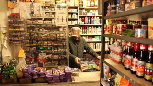 Truyen Bui in seinem Lebensmittelgeschäft.