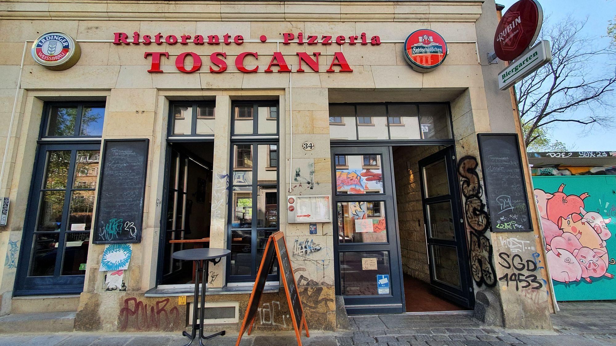 Lieferdienst und Abholservice im Toscana
