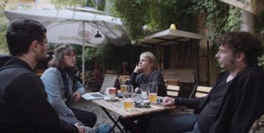Maria, Corinna, André (Kolle) und Eduard arbeiten alle auf Augenhöhe im Zic-Zac-Kollektiv. Foto: Zic-Zac-Kollektiv