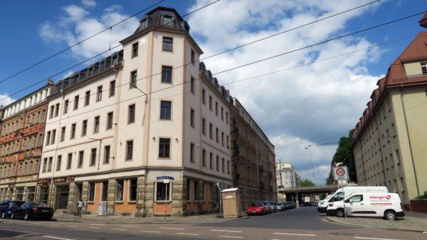 Arbeiten an der Fernwärmeleitung an Fritz-Reuter- und Johann-Meyer-Straße