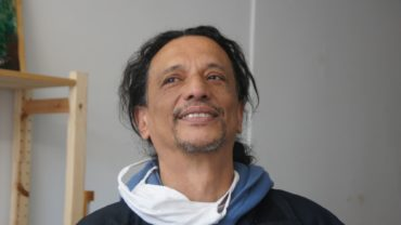 "Ruben Dario Torres in der ""Galerie Rudadato""."