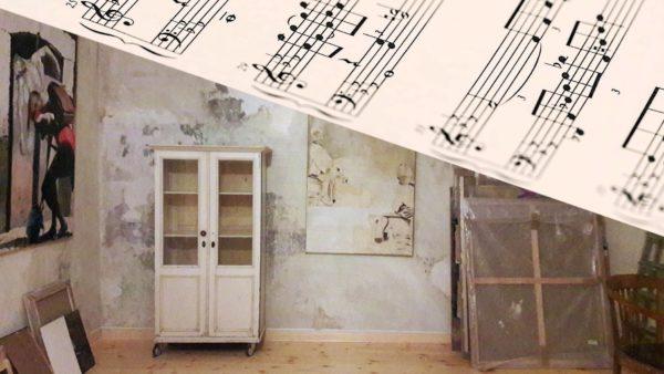Klassische Musik im Atelier Karen Gäbler am Mittwoch.