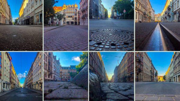 Der Fotograf und Grafiker Ronny Rozum hat zur BRN 2019 mal die leeren Straßen der Neustadt festgehalten.