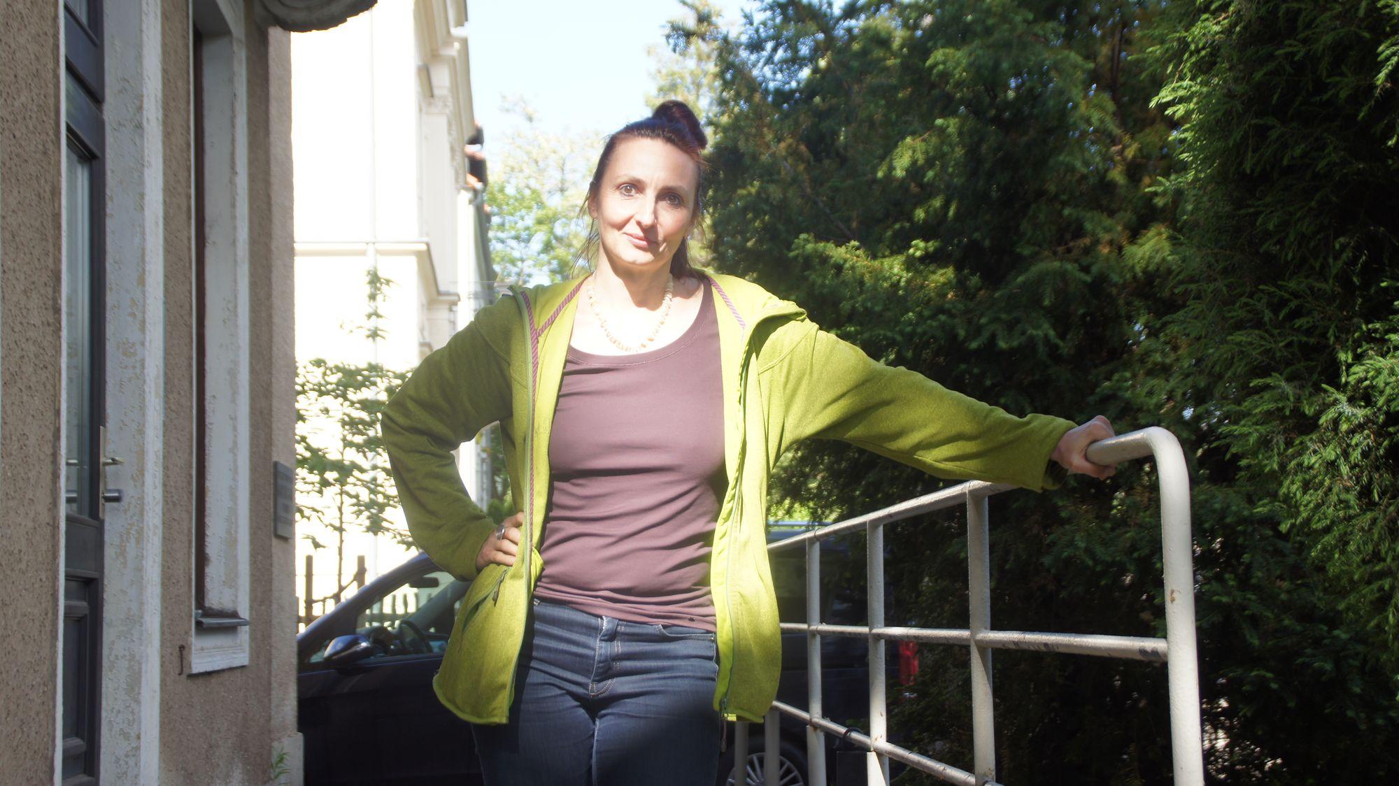 Katja Erfurth engagiert sich im Verein zum Erhalt der Villa Wigman für die freie Tanzszene Dresdens.