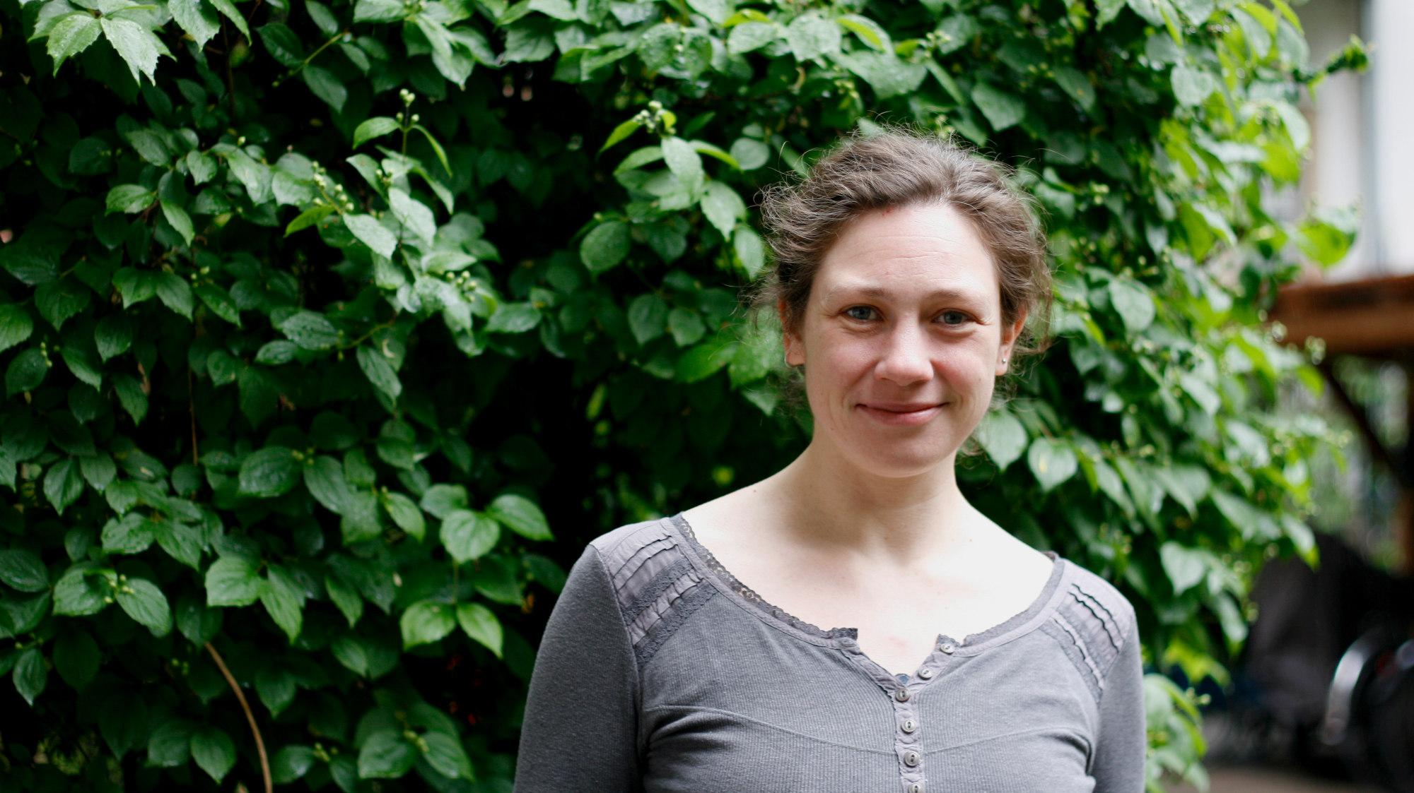 Jutta Wieding arbeitet im Vorstand der Dresdner Regionalgruppe des BUND.