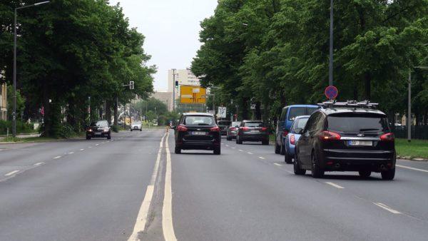 Albertstraßen-Umbau soll am 20. Juli beginnen.