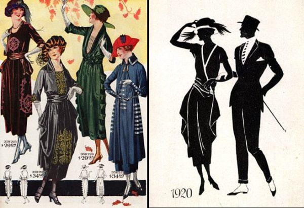 Mode in den 1920er Jahren