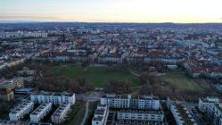 Die Dresdner Neustadt - Foto: Rotationer CR aus Dresden