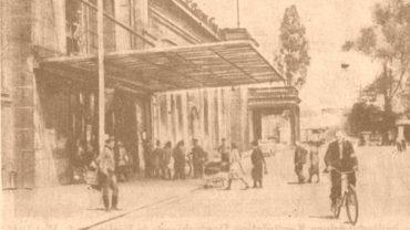 Bahnhof Neustadt 1945 - Foto Tageszeitung Dresden
