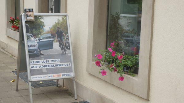 """Die aktuelle Kampagne des ADFC fordert """"Mehr Kraft für's Rad"""""""
