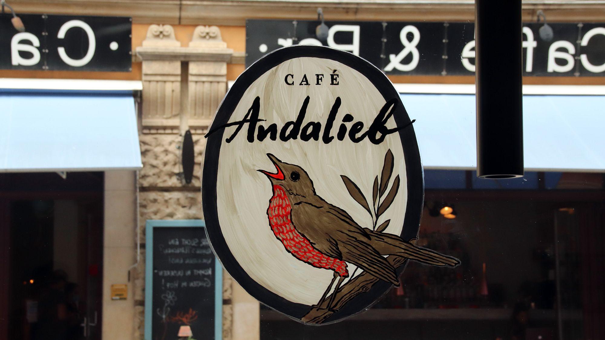 Die Nachtigall hat eröffnet: Café Andalieb