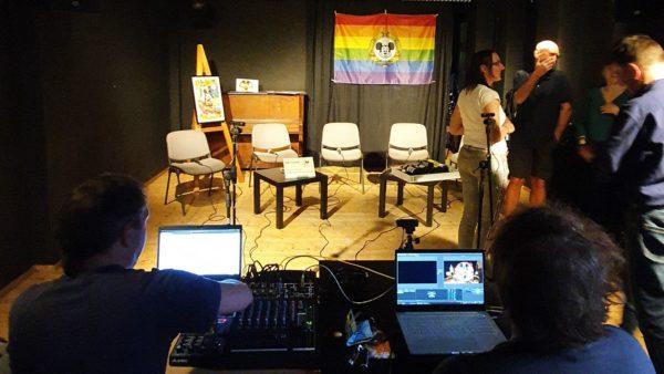 BRN TV im Theater Wanne im Stadtteilhaus