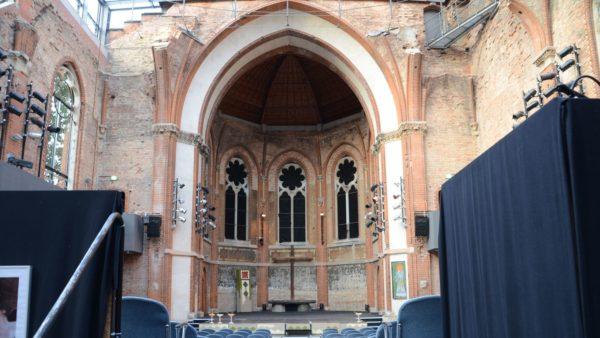 Theater in der Ruine. Foto: St.-Pauli-Ruine