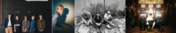Die Künstler: Giant Rooks, Lea, Thees Uhlmann und Faber.