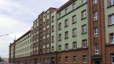 Ein Stück Architekturgeschichte steckt in den Fassaden der Hansasiedlung.