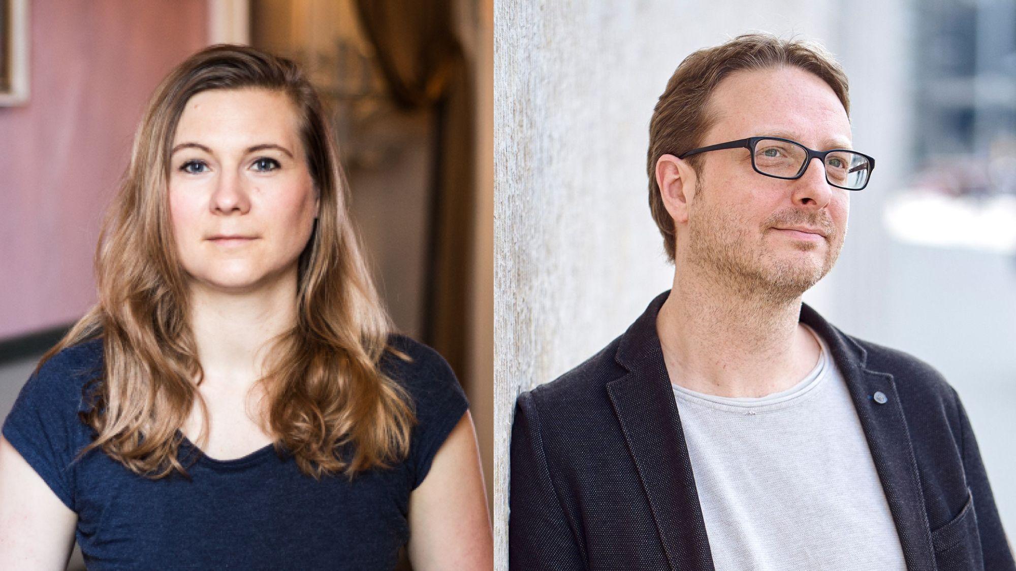 Kirsten Fuchs und Frank Rudkoffsky