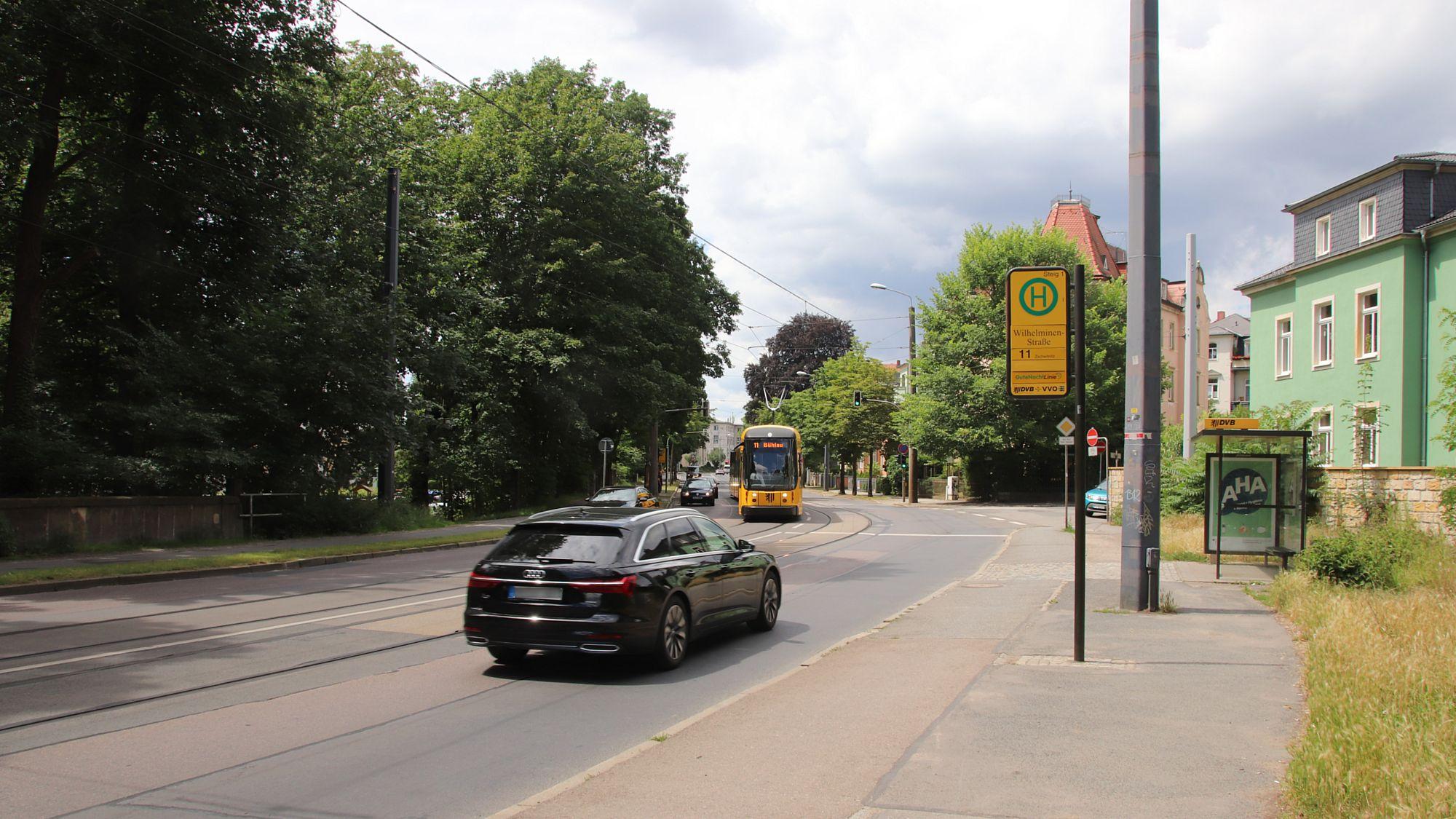 Bautzner Straße soll zwischen Wilhelminen- und Fischhausstraße saniert werden.q