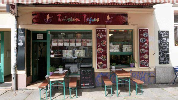 So präsentiert sich der kleine Laden von außen.