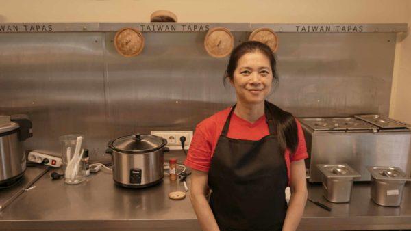 Natascha Lin Heicke - stolze Lokalbesitzerin und Feinschmeckerin.