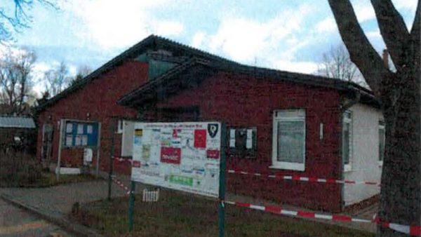 Vereinsgebäude, Sportanlage Meschwitzstraße